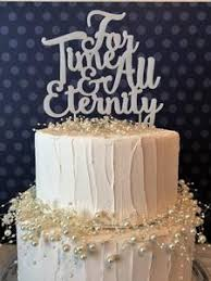 For Time All Eternity Cake Topper Wild Horse Timber