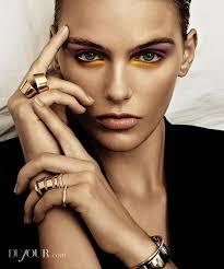 playful eyeshadow editorials