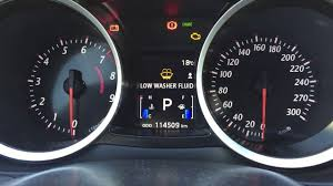 Low Washer Fluid Warning Light Lexus Low Washer Fluid