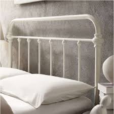 white iron headboard. Brilliant Iron Pretty White Iron Headboard Queen 24 Metal With Incredible Concept Of  Wrought Bed For W