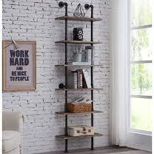 carl ladder wall shelf temple webster