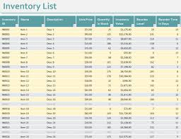 inventory checklist template excel inventory checklist template excel downloads