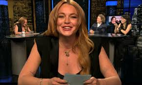 is very funny as guest host on chelsea lately just two days after leaving rehab daily mail