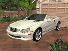 Mod The Sims - 2005 Mercedes-Benz SL500 Roadster