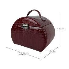 china las beauty jewel makeup case leather cosmetic jewellery packaging box china cosmetic box makeup box