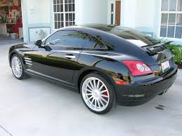 chrysler crossfire srt6 black. chrysler cross fire had this car for a weekend once very fun crossfire srt6 black