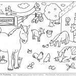 Paarden Manege Kleurplaat Kleurplaat Voor Kinderen