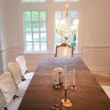shabby chic couture furniture. Rachel Ashwell Shabby Chic Couture Richmond Dining Table With Darcy Chairs, Slipcovered August Furniture
