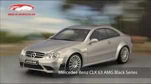 ck-modelcars-video: Mercedes-Benz CLK 63 AMG Black Series ...