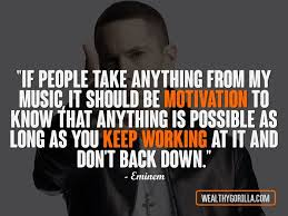 Quotes From Rap Songs Impressive 48 Great Hip Hop Quotes About Happiness In Life Wealthy Gorilla