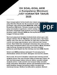 Download soal akm matematika 2021 pdf doc Pdbmyifrocv6vm