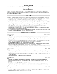 Sample Accounting Resume Objective 6 Cpa Resume Objective Grittrader