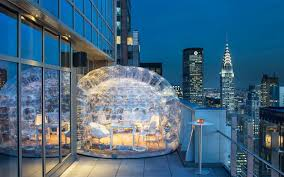 Drink Inside a Bubble at the Highest Rooftop Hotel Bar in NYC | Travel +  Leisure