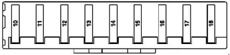 Mercedes Benz Ml Class W164 2005 2011 Fuse Box Diagram