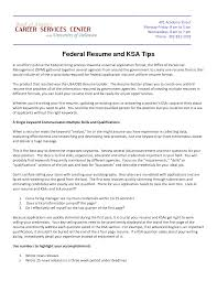 Federal Resume Example Usajobs Examples Of Resumes