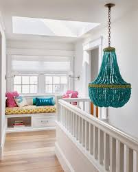 if there s one thing that always makes my heart skip a beat it s the turquoise beaded chandelier by marjorie skouras i love it in this delightful home