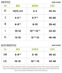 Size Chart Swiftwick
