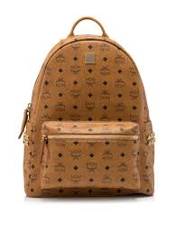 Mcm Designer Stand For Mcm Womens Backpack Classic Print All Match Bag