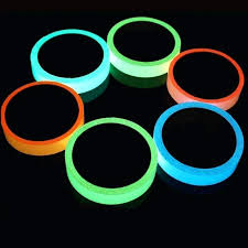 vinyl wall stripes glow luminous tapes warning emergency lines sticker fluorescent home improvement removable