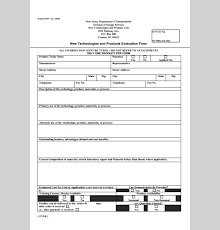 New Product Evaluation Template