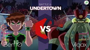 ben 10 vs vilgax boss battle at undertown se walkthrough