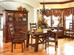 Shayne Country Antique Two Tone White Extending Dining Set By - Country dining rooms