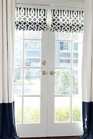 roman blinds on french doors. Wonderful Roman Roman Shade Outside Mount On French Door Would Be Great For The Doors In  Our Kitchen On Blinds French Doors I