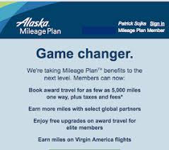Rewards Canada Great Changes To Alaska Airlines Mileage