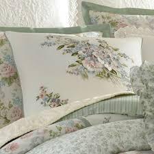harper celadon fl block comforter bedding by laura ashley
