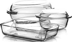 """<b>Набор посуды</b> для СВЧ <b>Pasabahce</b> """"<b>Borcam</b>"""", 5 предметов. 159053"""