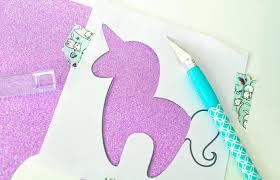 free unicorn bookmark printable yarn tail