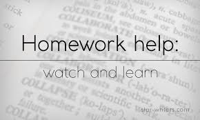 english homework help online watch and learn