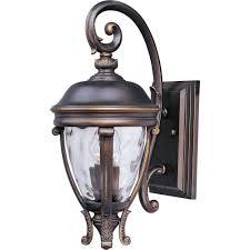 maxim lighting camden vivex 2 light copper bronze outdoor wall mount