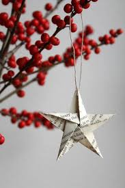 38 Handmade Christmas Ornaments - Paper Star Ornament