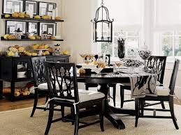 nice black dining room chairs elegant black dining table set