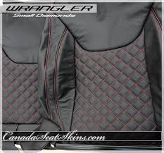 2013 - 2017 Jeep Wrangler Quilted Leather Upholstery &  Adamdwight.com