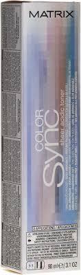 Matrix Color Sync Sheer Acidic Toner - Безаммиачный <b>тонер для</b> ...