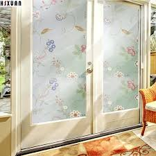 glass clings window privacy frosted static decorative
