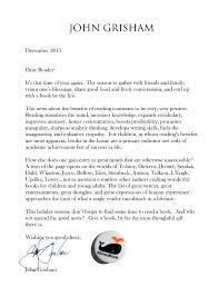 wishing you good cheer john grisham grisham 2015 holiday letter v2