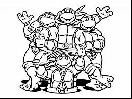 Coloring Pages Ninja Turtles Coloring Book Best Turtle Pages