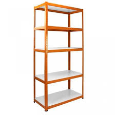 steel heavy duty 5 shelf shelving unit