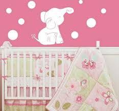 elephant nursery decor baby girl elephant nursery wall decor