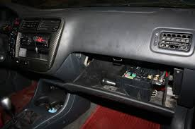 ek9 replica project ftw beyond ca car forums community for fuse box relocated in the glove box