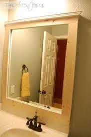 framed bathroom mirrors diy. Fancy Bathroom Mirror Frames Fleurdelissf Then Frame Ideas Easy Diy In Framed Mirrors R