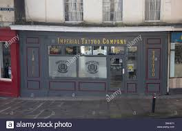 Imperial Tattoo Company Shop Bath Shop Front Body Art Stock Photo