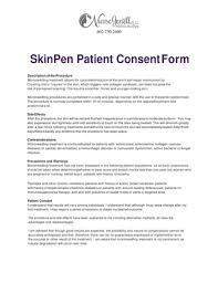 microneedling consent form fillable online skinpen patient consent form nurse jenell fax