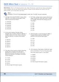 Free Ged Math Practice Worksheets ~ Koogra