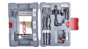 2608P00233 | <b>Bosch 49</b> piece Masonry Twist Drill Bit <b>Set</b>, 2mm to ...