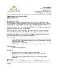 Cover Letter For Graphic Design Job Graphic Design Job Description Sample Cover Letter Designer