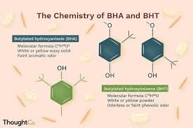 Food Preservation Chart Chemistry Of Bha And Bht Food Preservatives